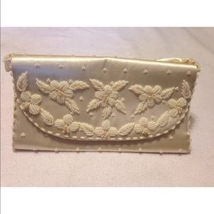 Vintage 1950's Richere by Walborg  Beaded Clutch